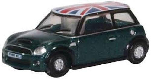 Oxford #NNMN005 N Scale Mini Cooper S-British Racing Green