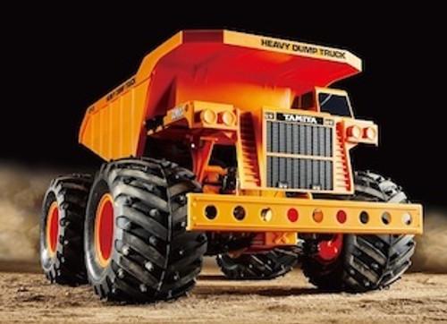 Tamiya #57890 1/24  XpertBuilt Heavy Dump Truck 4WD