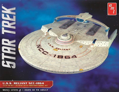 AMT #1036 1/537 USS Reliant-Star Trek The Wrath of Khan