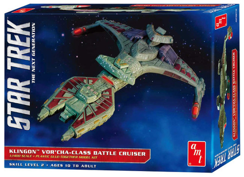 AMT #1027 1/1400 Klingon Vor'Cha-Class Battle Cruiser