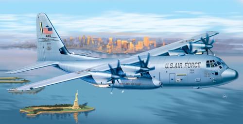 Italeri #1255 1/72 C-130J Hercules w/ RNZAF Decals
