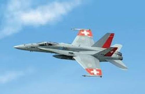 Italeri #1385 1/72 F/A-18 Swiss Air Force