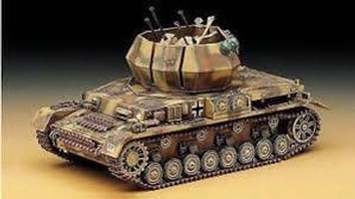 Academy #13236 1/35 Flakpanzer IV Wirbelwind German Anti-Aircraft Tank
