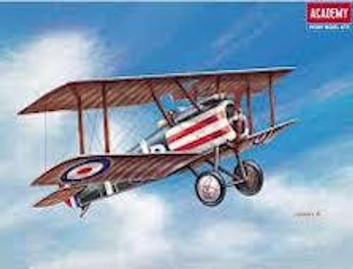 Academy #12447 1/72 Sopworth Camel WW1 Fighter
