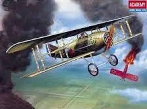 Academy #12446 1/72 SPAD XIII WW1 Fighter