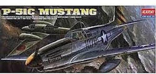 Academy #12441 1/72 P-51 C Mustang