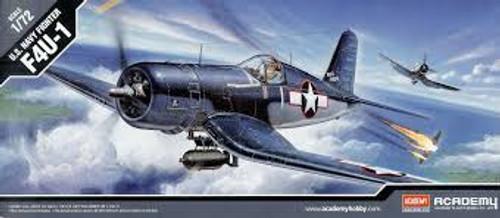 Academy #12457 1/72 F4U-1 U.S Navy Fighter