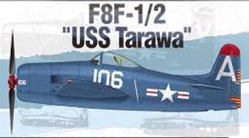 """Academy #12313 1/48 F8F-1/2 """"USS Tarawa"""""""