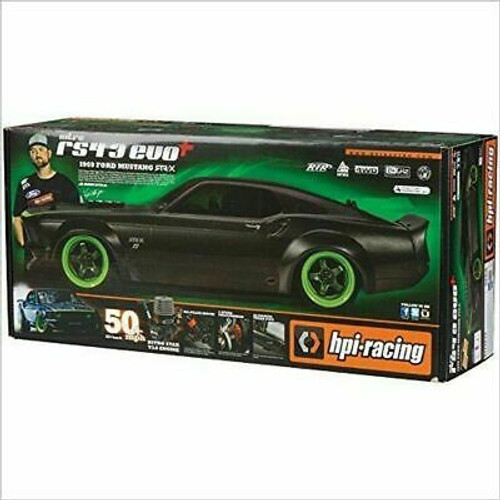HPI #120102 1/10 RS4 S3 1969 Mustang