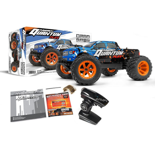 HPI Maverick  @ MV150200 1/10 BL Quantum MT Flux Blue