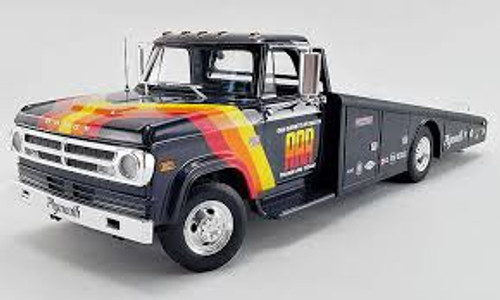 Acme #1801901 1/18 1970 Dodge D-300 Ramp Truck-AAR Cuda