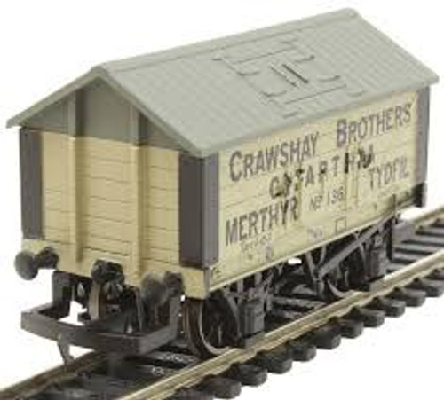 """Hornby # R6976  00 Lime wagon 'CRAWSHAY BROTHERS"""" No. 136"""