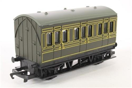 Hornby #R4672 4 Wheel Coach Southern Railway