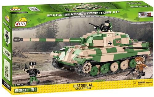 Cobi #2480A SD.KFZ 182 Königstiger (Tiger II) 630 pces