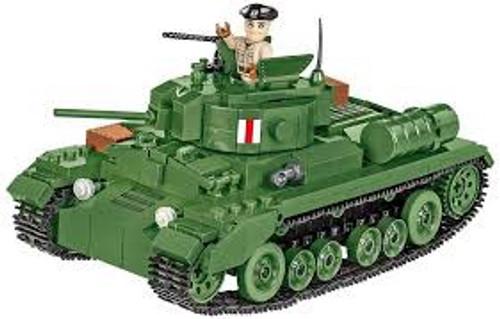 Cobi #2521 Valentine Mk.III Tank 406 pces
