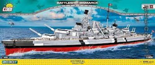 "Cobi #4819 ""Bismarck ""Battleship 2030 pces"