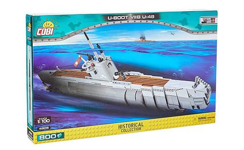 Cobi #4805 1/100 U-Boot VIIB U-48 Submarine 800 pces