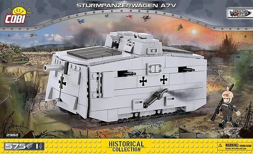 Cobi #2982 Sturmpanzerwagen A7V-575pces