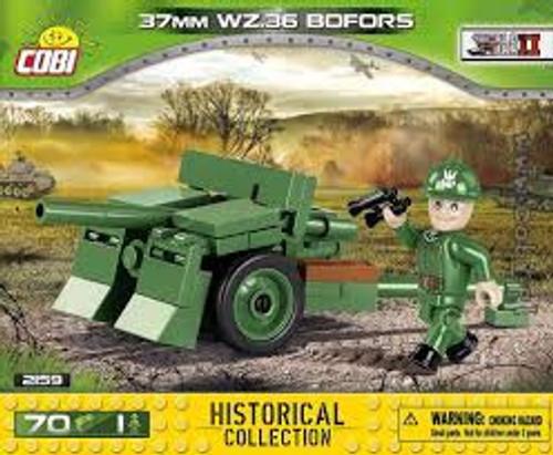Cobi #2159 37mm WZ.36 Bofors-70 pce