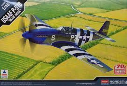 """Academy #12303 1/48 USAFF P-51B """"Blue Nose"""""""