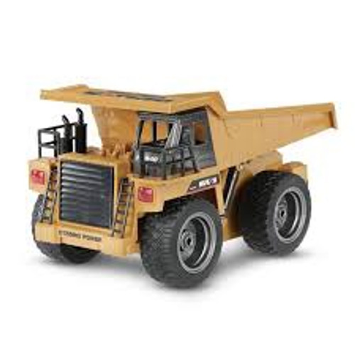 Huina #1540 Dump Truck with Die Cast Cab (2.4G,6CH)