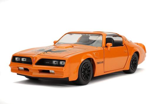 Jada # 31601 1/24 1977 Pontiac Firebird-Orange