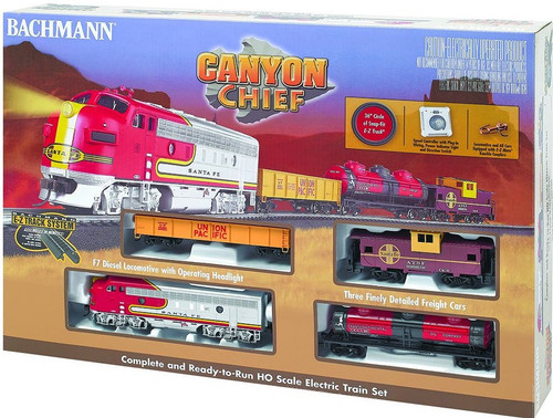 Bachmann #00740 HO Canyon Chief Set