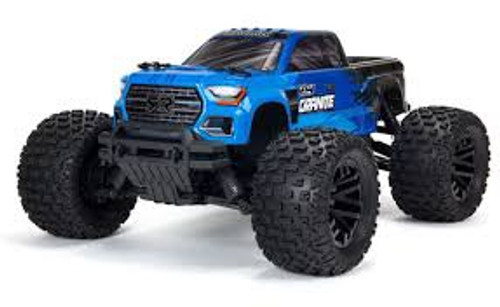 ARRMA #ARA4202V3T1 Ver.3 Granite 4X4 550 Mega Brushed Monster Truck-Blue