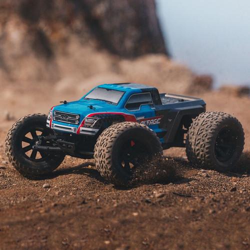 Arrma #ARA102727IT2 Granite Voltage 1/0 Monster Truck (Blue/Black)