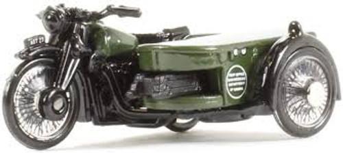 Oxford #76BSA004 1/76 BSA Motorbike w/Sidecar