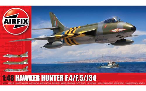 Airfix # A09189 1/48 Hawker Hunter F4/F5/J34