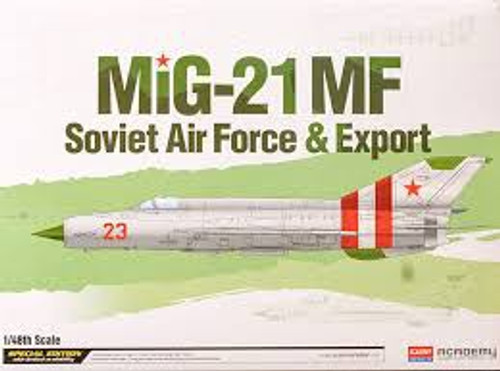 Academy #12311 1/48 MiG-21 MF Soviet Airforce Special Edition