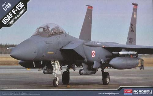 """Academy #12295 1/48 USAF F-15E """"Seymour Johnson"""""""