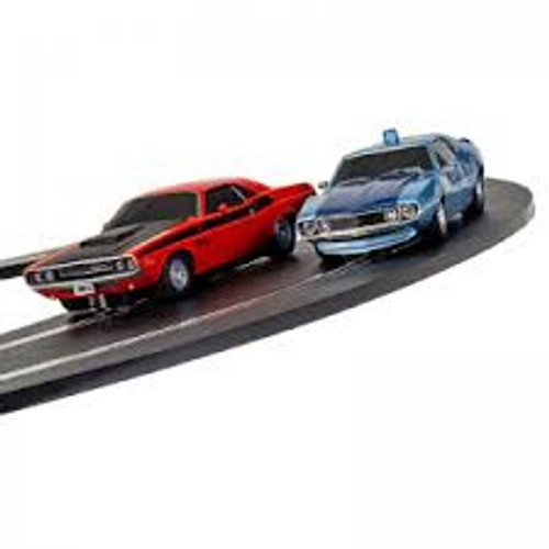 Scalextric  #C1405 1/32 American Police Chase