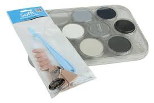 Pan Pastel #30702 Grey ,Grime and Soot Set
