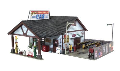 Landmark Structures #BR4935 N Ethyl's Gas & Service