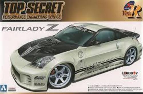 Aoshima #5364 1/24 Nissan Fairlady Z33 'Top Secret'