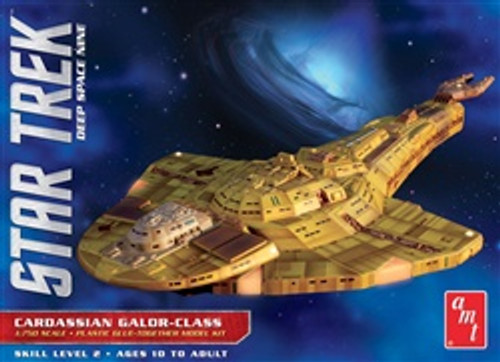 AMT#10281/750 Cardassian Galor Class-Star Trek Deep Space Nine