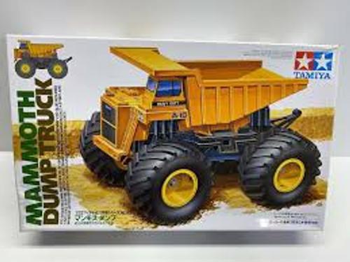 Tamiya #17013 1/32 Mammoth Dump Truck Mini 4WD