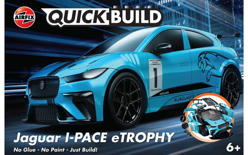 Airfix #J6033 Jaguar I-Pace eTrophy Quick Build