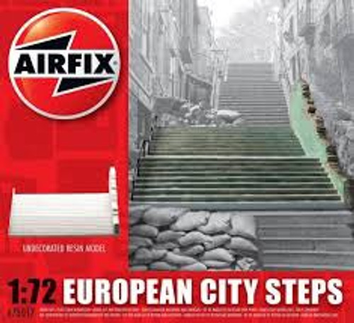 Airfix#275017 1/72 European City Steps Resin Model