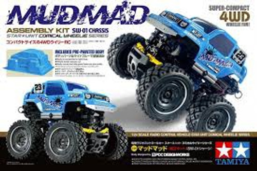 Tamiya #57412 1/24 MudMad 4WD Comical Wheelie Kit