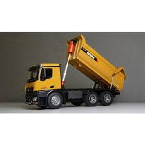 Huina #1582 1/14 10 Channel RC Full Diecast Dump Truck
