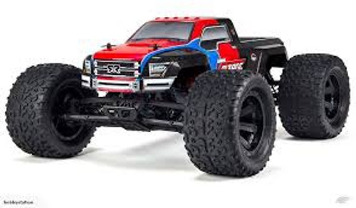 ARRMA #ARA1027271T3 1/10 Granite Voltage Monster Truck (Red/Black)
