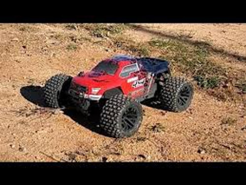 ARRMA #AR102714T2 1/10 Granite 4x4 Mega Monster Truck  Brushed(Red/Black)