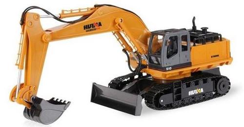 Huina #1510 1/16 11 Channel Excavator