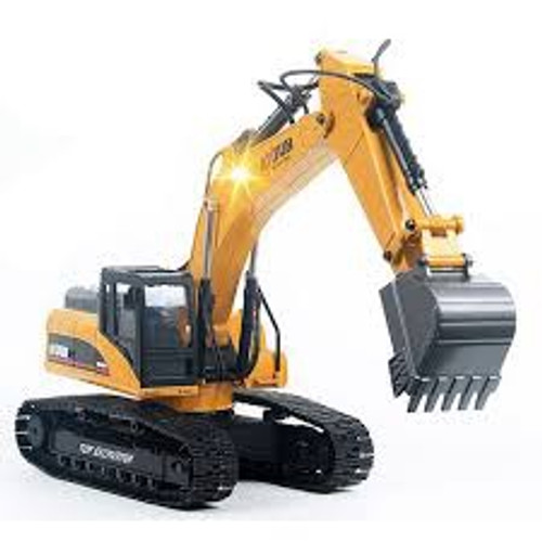 Huina #1580 1/14 23CH RC Full Alloy Excavator in Gift Case