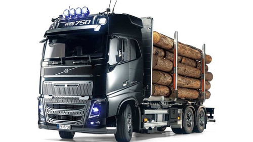 Tamiya # 56360 1/14 Volvo Globetrotter FH16 6x4 Timber Truck