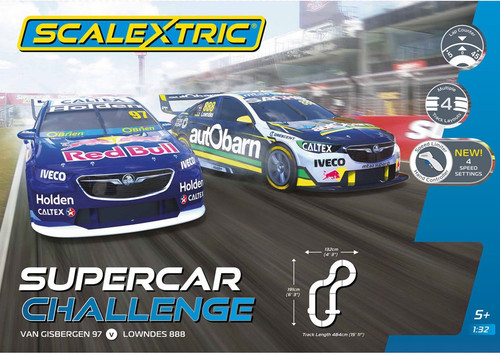 Scalextric #C1400NIC  1/32 2018 V8 Supercar Challenge