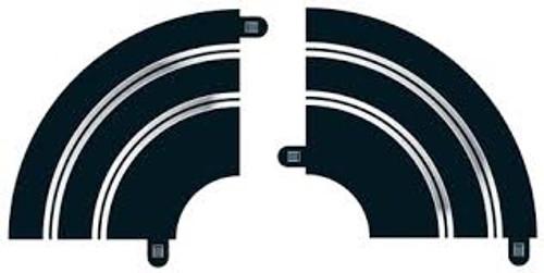 Scalextric #C8201 Radius 1 Hairpin Curve (2pc)
